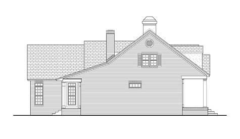 Colonial, Country, Ranch, Traditional House Plan 40037 with 3 Beds, 3 Baths, 2 Car Garage Picture 1