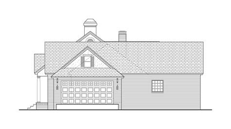 Colonial, Country, Ranch, Traditional House Plan 40037 with 3 Beds, 3 Baths, 2 Car Garage Picture 2
