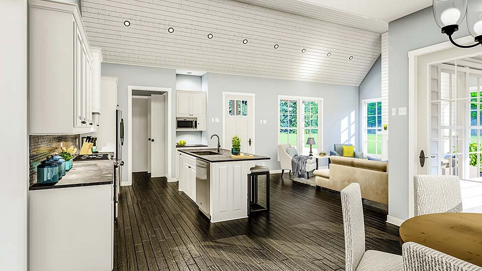 Cottage, Country, Farmhouse, French Country, Southern, Traditional House Plan 40047 with 3 Beds, 2 Baths, 2 Car Garage Picture 9