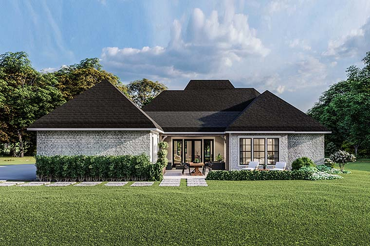 Country, Craftsman, European, Farmhouse, Southern, Traditional House Plan 40049 with 4 Beds, 3 Baths, 2 Car Garage Picture 5