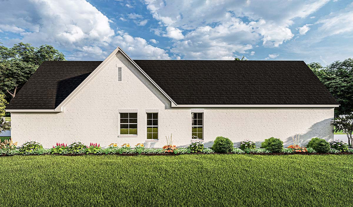 Cottage, Traditional House Plan 40050 with 3 Beds, 2 Baths, 2 Car Garage Picture 1