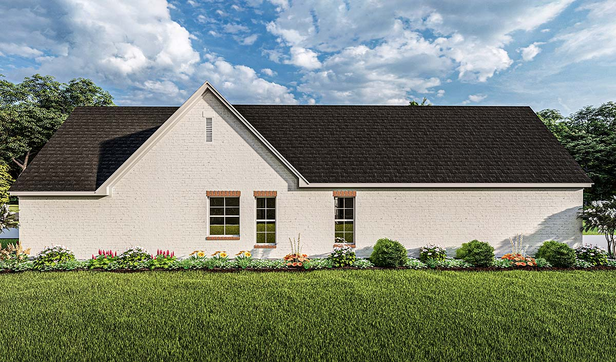 Cottage, French Country, Ranch House Plan 40052 with 3 Beds, 2 Baths, 2 Car Garage Picture 1
