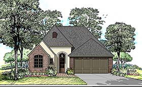 Country European French Country House Plan 40300 Elevation