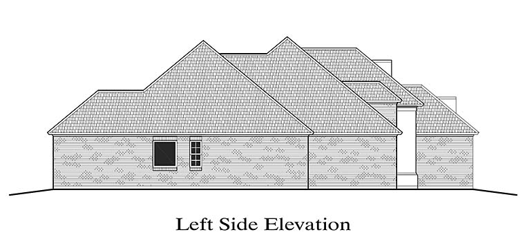 European, French Country House Plan 40307 with 3 Beds, 2 Baths, 2 Car Garage Picture 1
