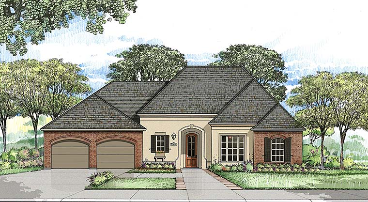 European French Country Southern House Plan 40309 Elevation