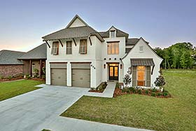 European , French Country , Southern House Plan 40314 with 4 Beds, 4 Baths, 2 Car Garage Elevation