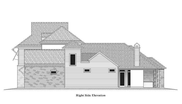 European, French Country, Southern House Plan 40314 with 4 Beds, 4 Baths, 2 Car Garage Picture 2