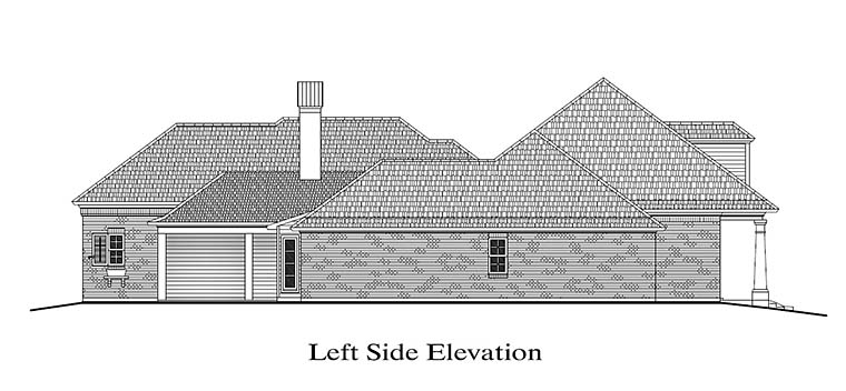 Colonial, Florida, Southern House Plan 40315 with 4 Beds, 4 Baths, 3 Car Garage Picture 1