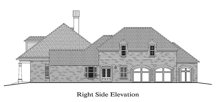 Colonial, French Country, Southern House Plan 40316 with 4 Beds, 4 Baths, 2 Car Garage Picture 2