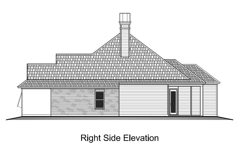 European, French Country House Plan 40317 with 3 Beds, 2 Baths, 2 Car Garage Picture 1