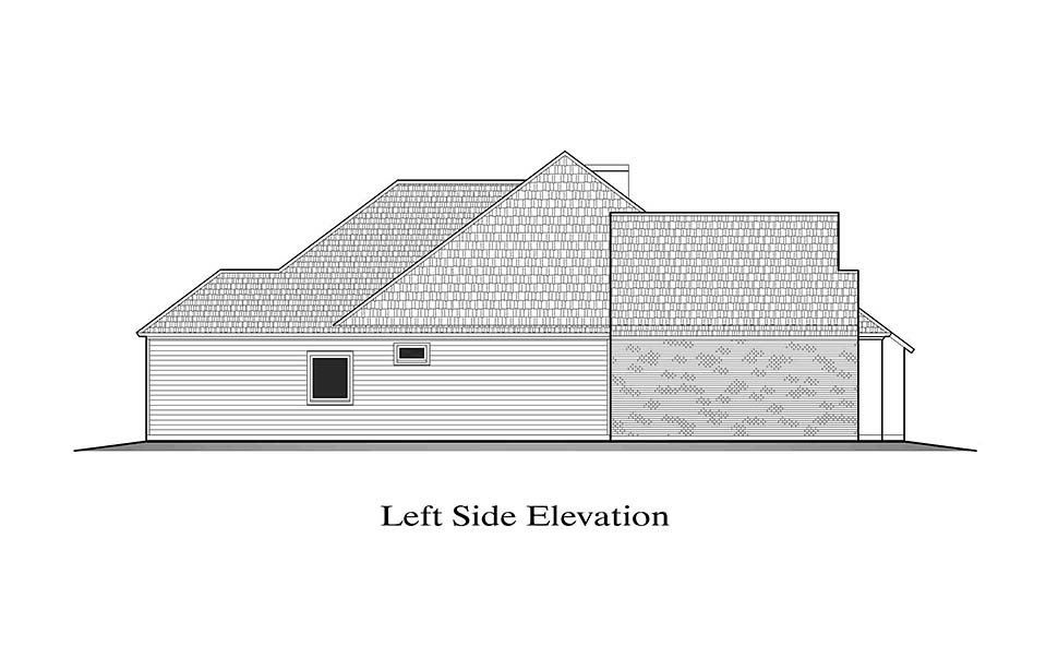 European, French Country House Plan 40322 with 3 Beds, 2 Baths, 2 Car Garage Picture 2