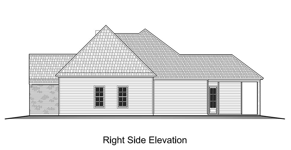 European, French Country House Plan 40323 with 4 Beds, 2 Baths, 2 Car Garage Picture 1