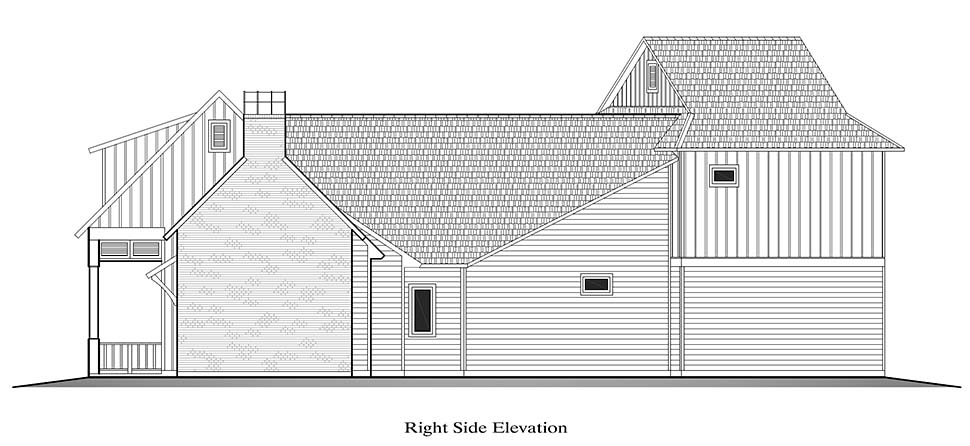 Country, French Country, Southern House Plan 40328 with 4 Beds, 3 Baths, 2 Car Garage Picture 14