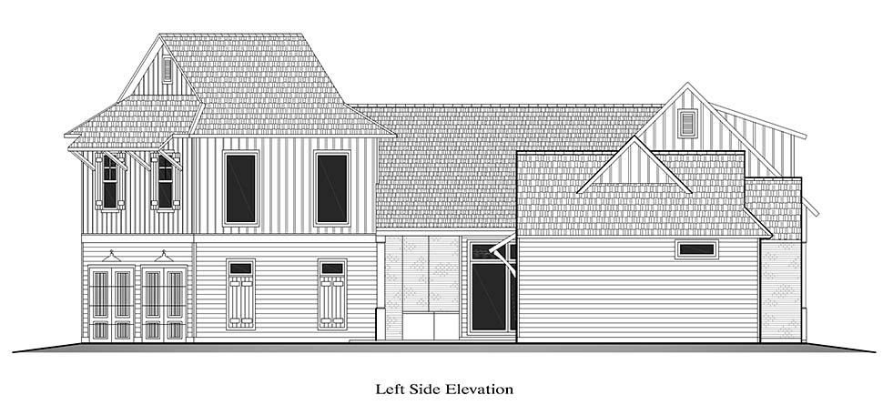 Country, French Country, Southern House Plan 40328 with 4 Beds, 3 Baths, 2 Car Garage Picture 15