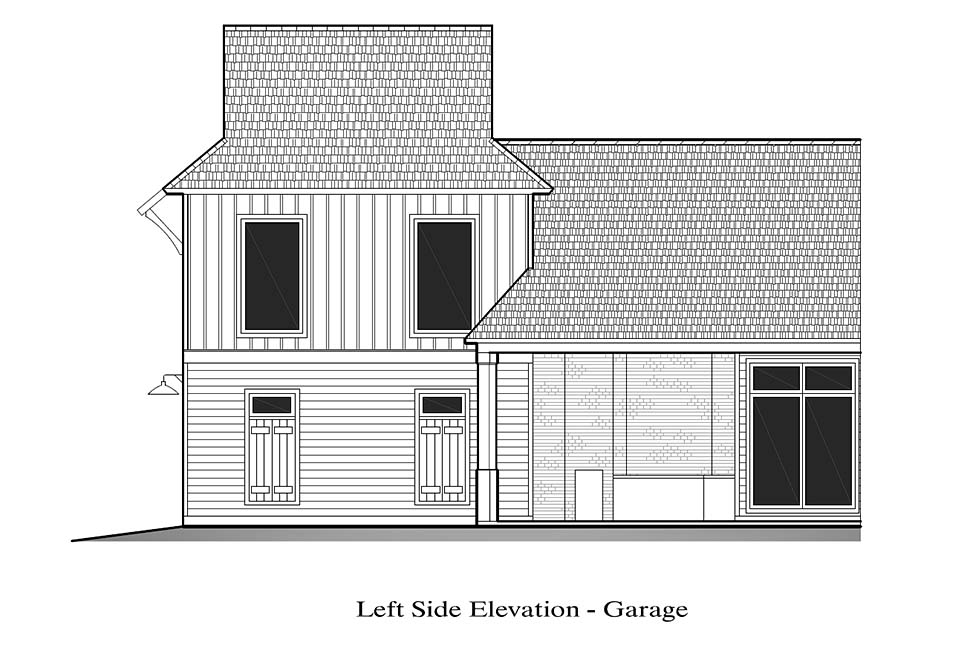 Country, French Country, Southern House Plan 40328 with 4 Beds, 3 Baths, 2 Car Garage Picture 16
