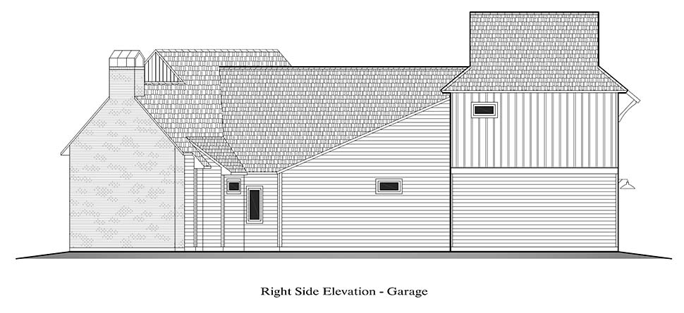 Country, French Country, Southern House Plan 40328 with 4 Beds, 3 Baths, 2 Car Garage Picture 17