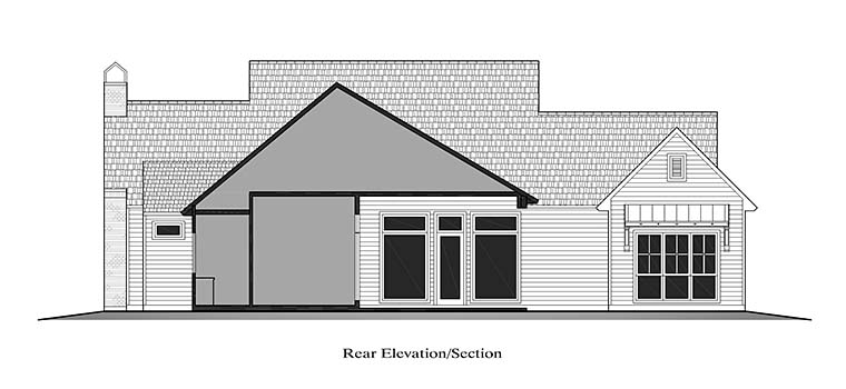 Country, French Country, Southern House Plan 40328 with 4 Beds, 3 Baths, 2 Car Garage Picture 18