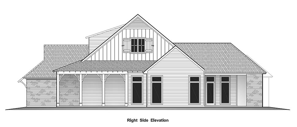 Country, French Country, Southern House Plan 40329 with 4 Beds, 3 Baths, 2 Car Garage Picture 1