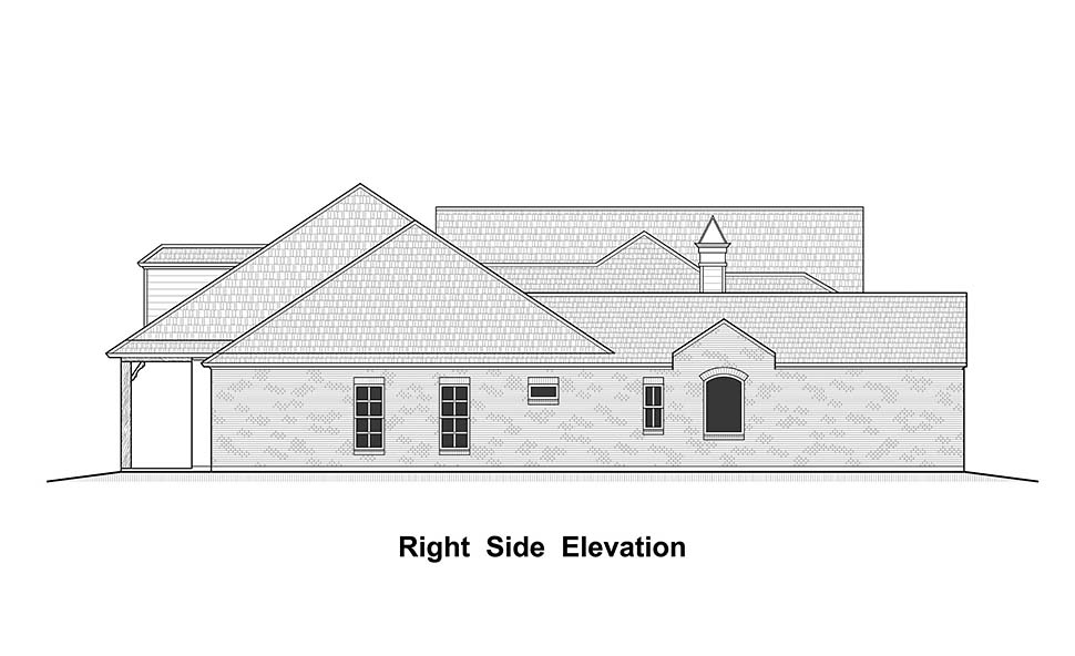 Colonial, Country, French Country, Southern House Plan 40339 with 4 Beds, 5 Baths, 3 Car Garage Picture 1