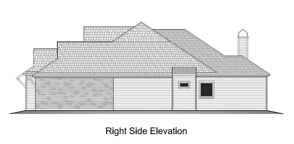 Cottage House Plan 40340 with 3 Beds, 3 Baths, 2 Car Garage Picture 1