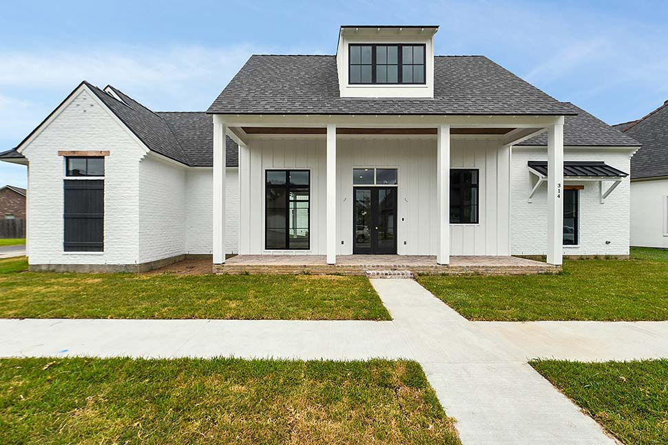 Country, Farmhouse, Southern House Plan 40341 with 4 Beds, 4 Baths, 2 Car Garage Picture 2