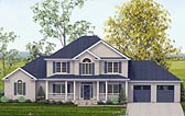 Plan Number 40503 - 3106 Square Feet