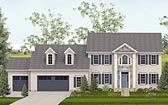 Plan Number 40516 - 3261 Square Feet