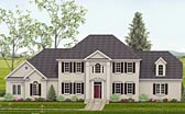 Plan Number 40518 - 3159 Square Feet