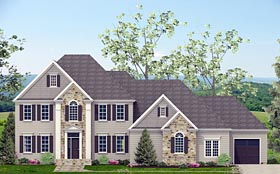 Plan Number 40519 - 3022 Square Feet