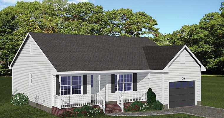 House Plan 40600