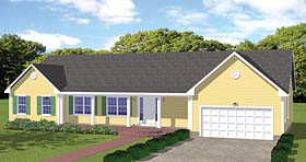 House Plan 40608