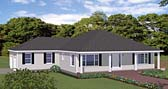 Plan Number 40609 - 1880 Square Feet