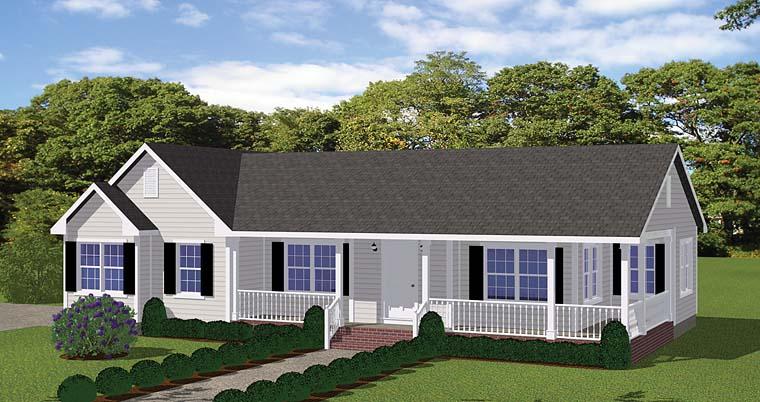 House Plan 40610