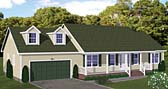 Plan Number 40631 - 1324 Square Feet