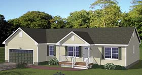 Plan Number 40640 - 1480 Square Feet
