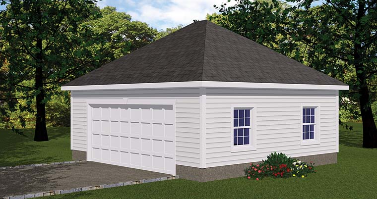Garage Plan 40656 Elevation