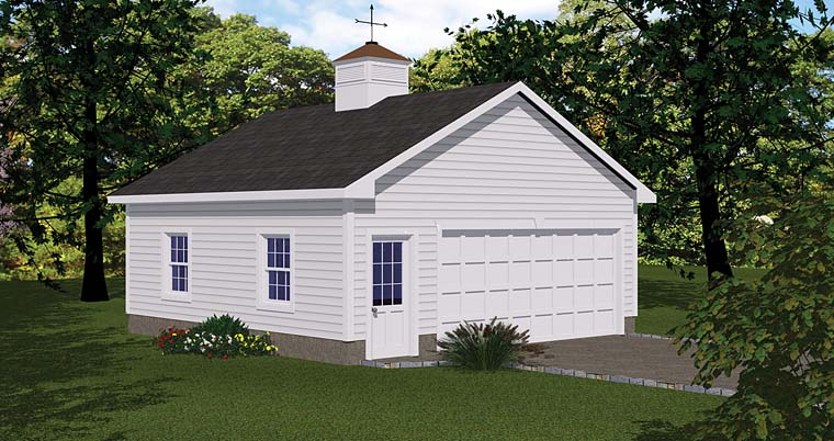 Garage Plan 40657 Elevation