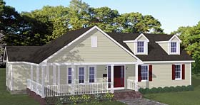 Plan Number 40662 - 1452 Square Feet