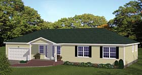 Plan Number 40680 - 1508 Square Feet