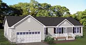 Plan Number 40682 - 1480 Square Feet