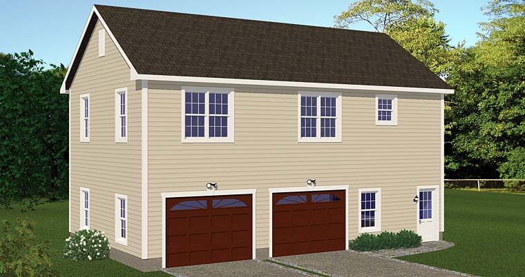 Garage Plan 40694 Elevation