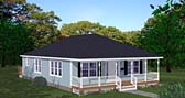 Plan Number 40698 - 1408 Square Feet