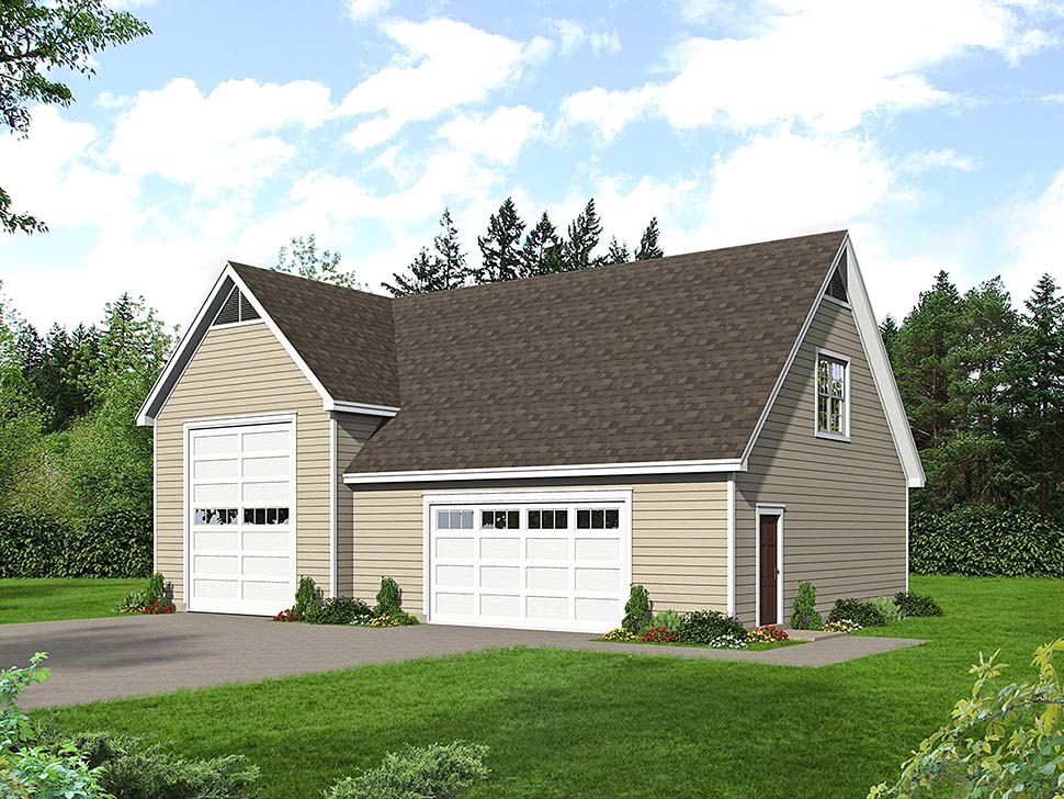 Ranch , Traditional , Elevation of Plan 40803