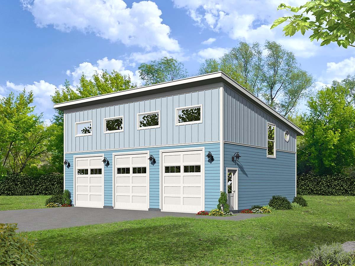 Garage Plan 40828