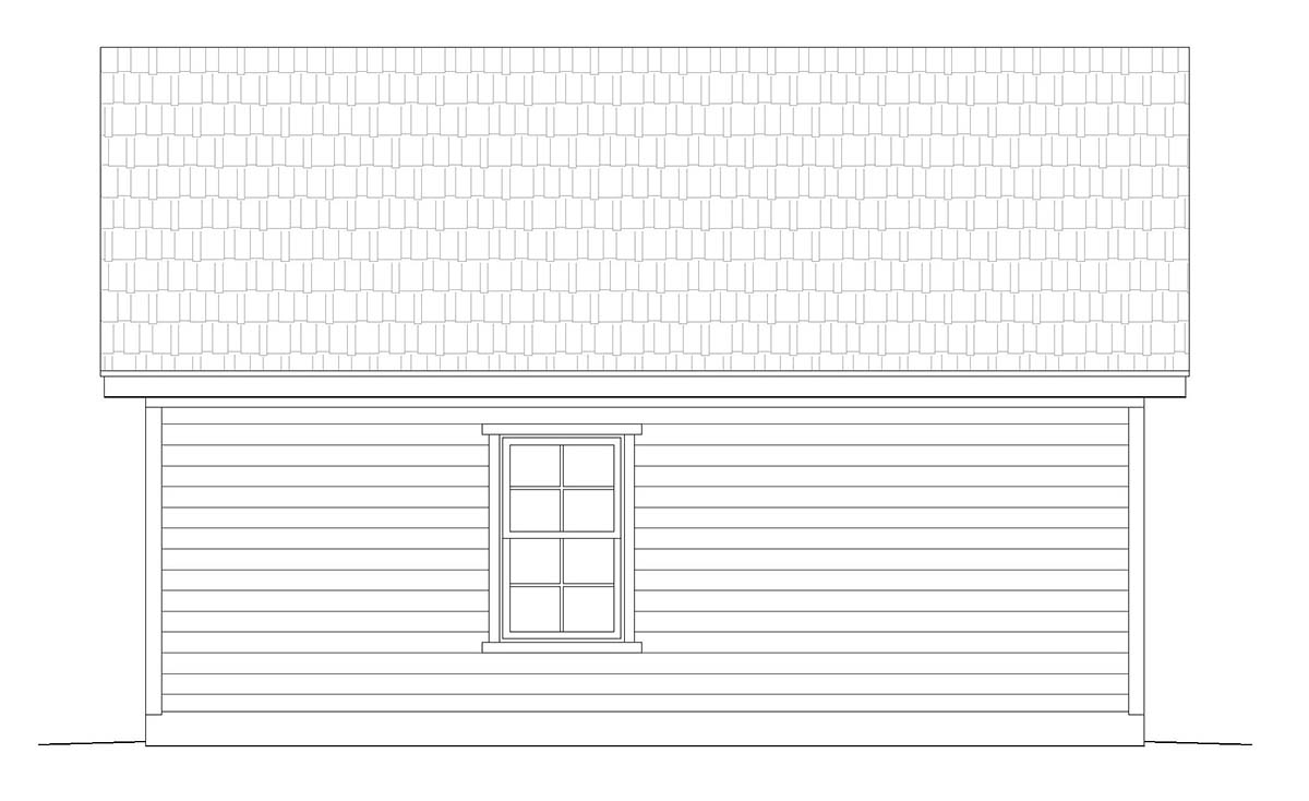 Cottage, Country, Ranch, Traditional 2 Car Garage Plan 40832 Picture 1