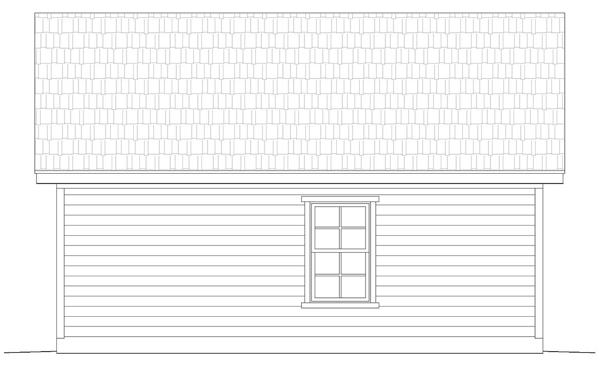 Cottage, Country, Ranch, Traditional 2 Car Garage Plan 40832 Picture 2