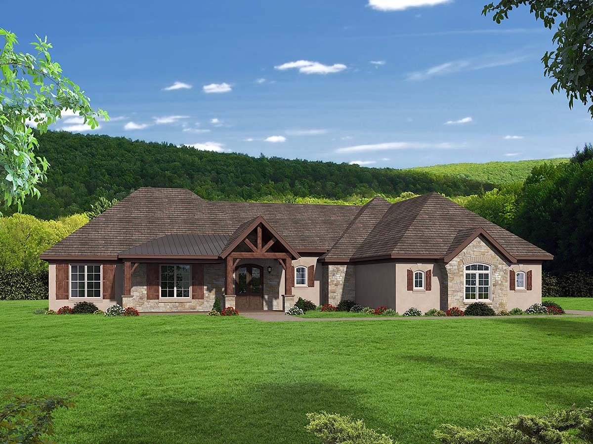House Plan 40860