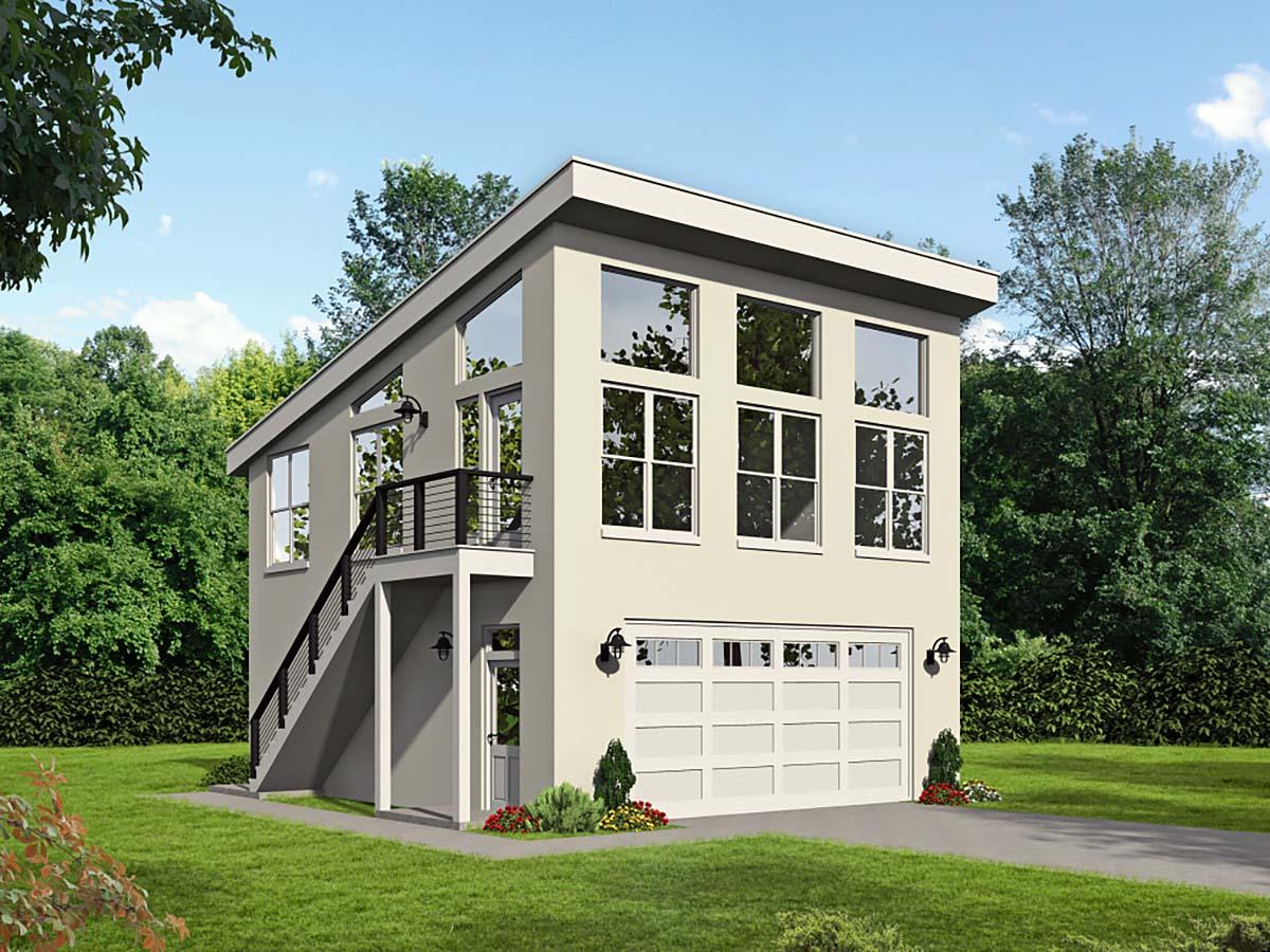 Garage Plan 40865