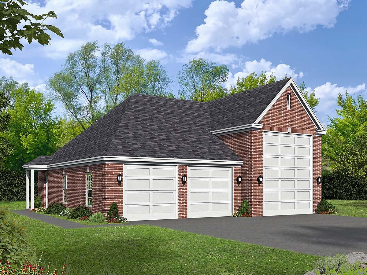 Garage Plan 40872