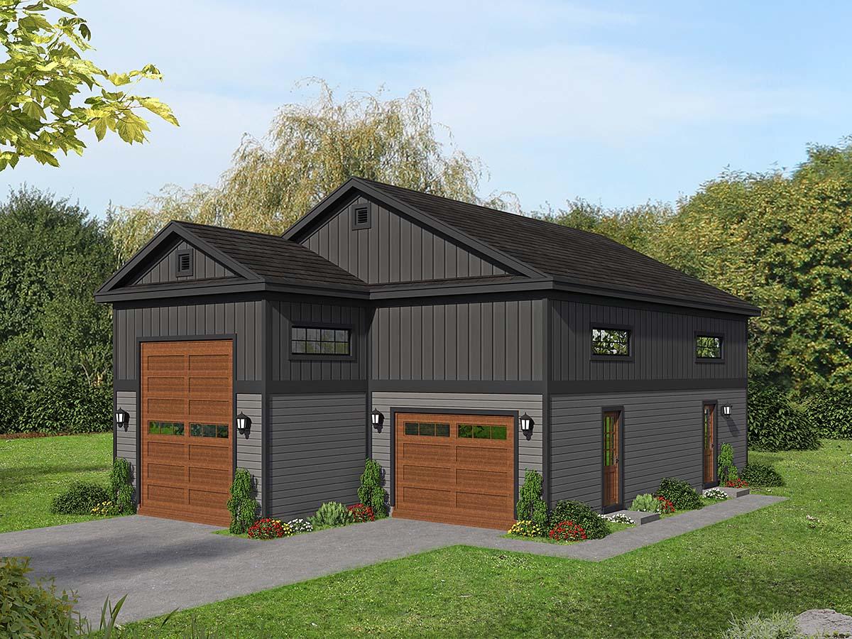 Garage Plan 40873